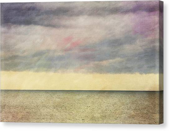 Pastel Sea - Textured Canvas Print