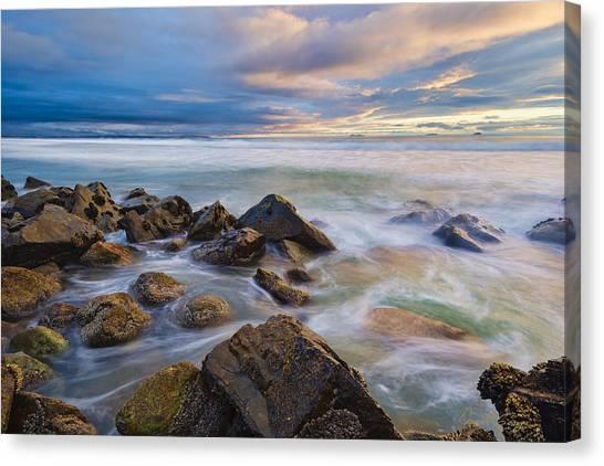 Pastel Sea Canvas Print