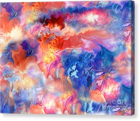 Pastel Storm By Spano  Canvas Print