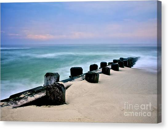 Pastel Waters Canvas Print