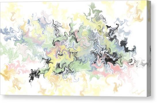 Pastels Gone Mad Canvas Print