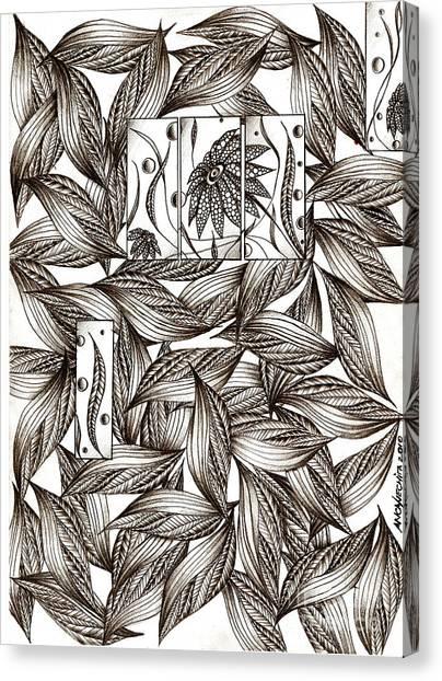 Path Canvas Print by Anca S