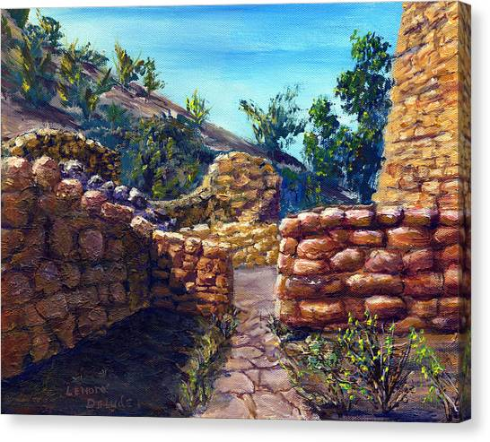 Path At Old Mission Canvas Print