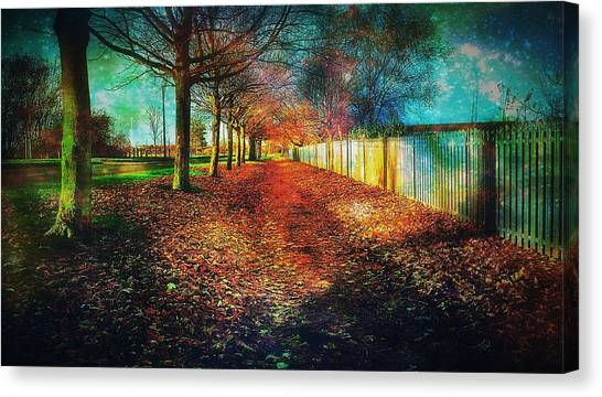 Greece Canvas Print - Path by Chris Drake