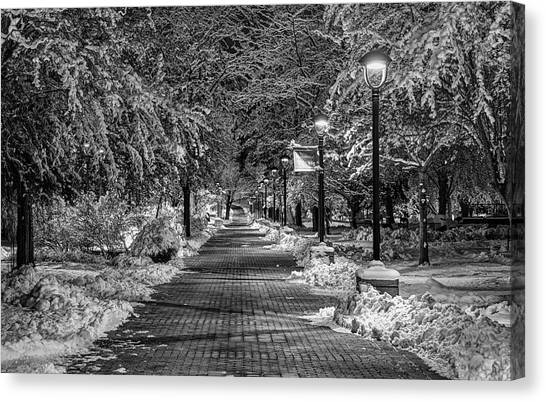 Washington State University Canvas Print - Path Through Eastern by Mark Kiver