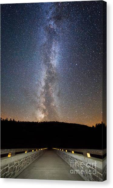 Path To Our Galaxy   Canvas Print