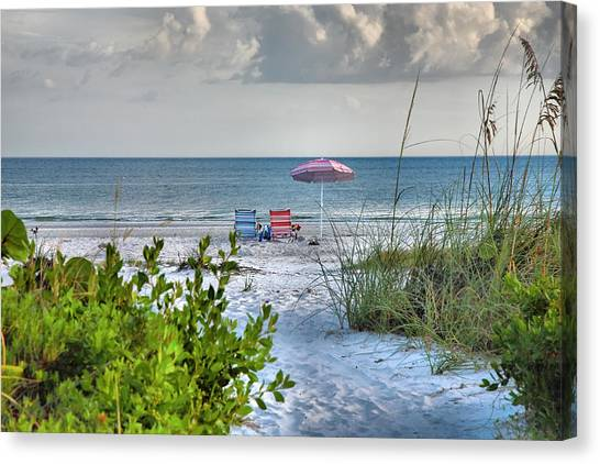 Path To The Beach II Canvas Print