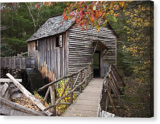 Grist Canvas Print - Path To The Mill by Andrew Soundarajan