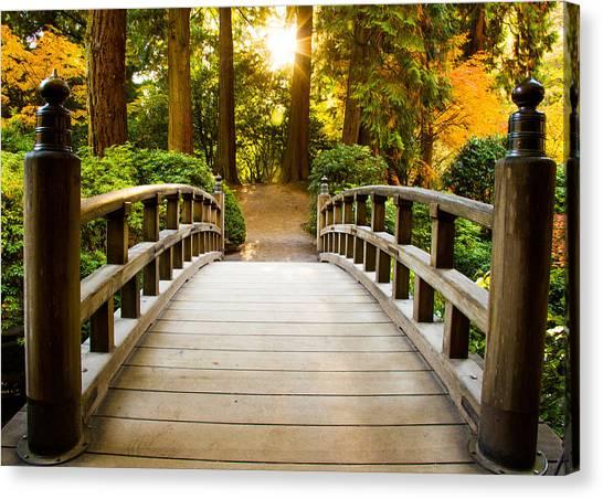 Path To Wisdom Canvas Print