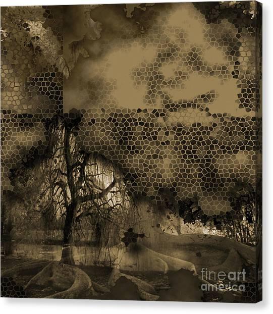 Path Canvas Print by Yanni Theodorou