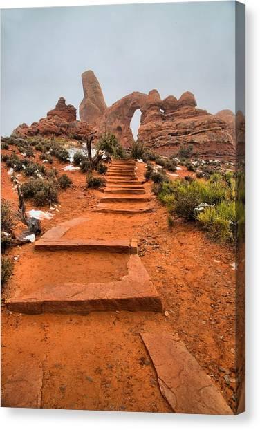 Pathway To Portals Canvas Print