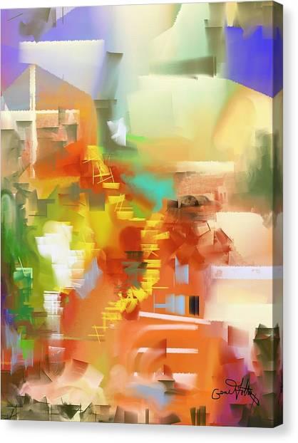 Pathways Canvas Print