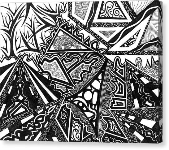 Pathways Canvas Print by Kerri White