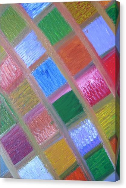 Canvas Print - Patience And Peace by Joanna Pilatowicz
