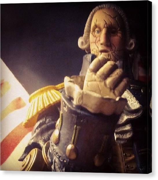 Bioshock Canvas Print - Patriotic #bioshock #infinite #enemy by Ian Aspden