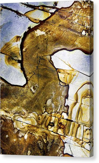 Patterns In Stone - 153 Canvas Print