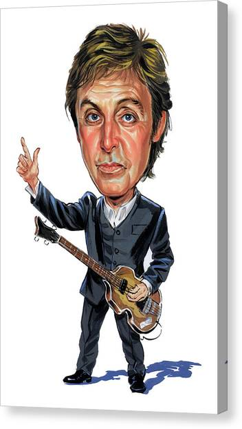 Paul Mccartney Canvas Print - Paul Mccartney by Art