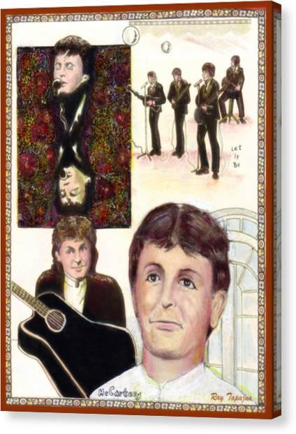 Let It Be Paul Mccartney Canvas Print
