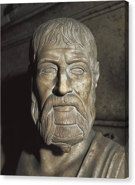 Hellenistic Art Canvas Print - Pausanias �-394 Bc. King Of Sparta by Everett
