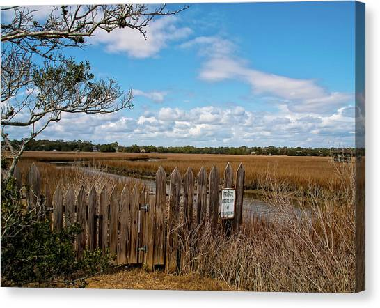 Pawley's Picket Fence Canvas Print