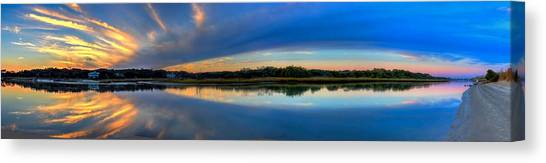 Pawlwys Island Sunset Canvas Print