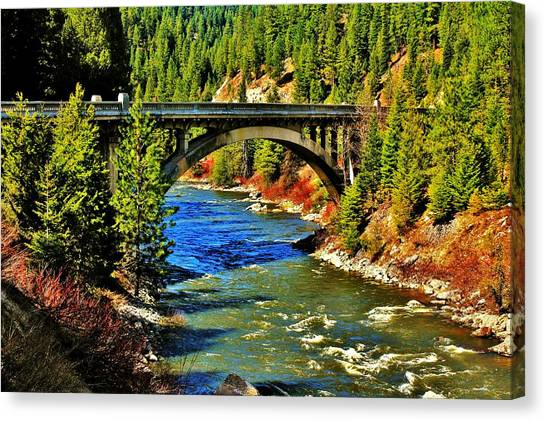 Payette River Scenic Byway Canvas Print