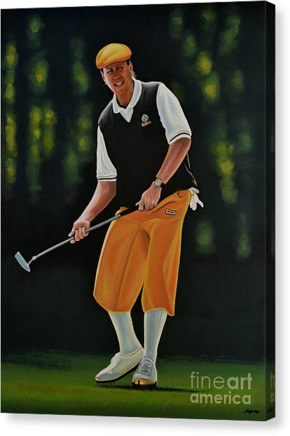 Missouri Canvas Print - Payne Stewart by Paul Meijering