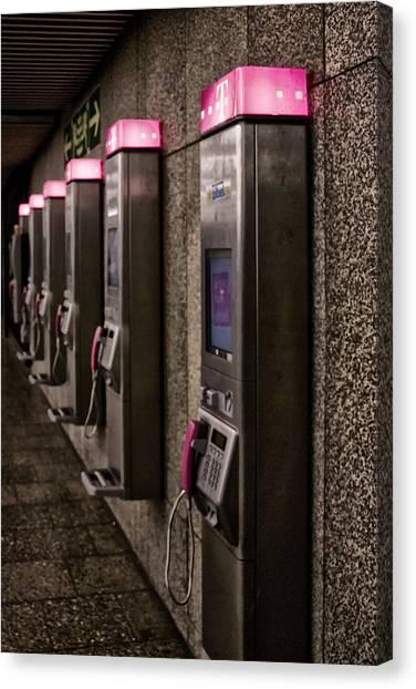 Payphones? Canvas Print