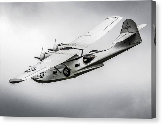Pby-5a Sub Hunter Canvas Print