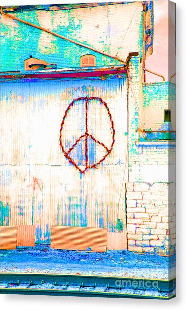 Peace 1 Canvas Print