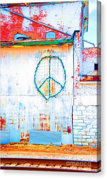 Peace 3 Canvas Print
