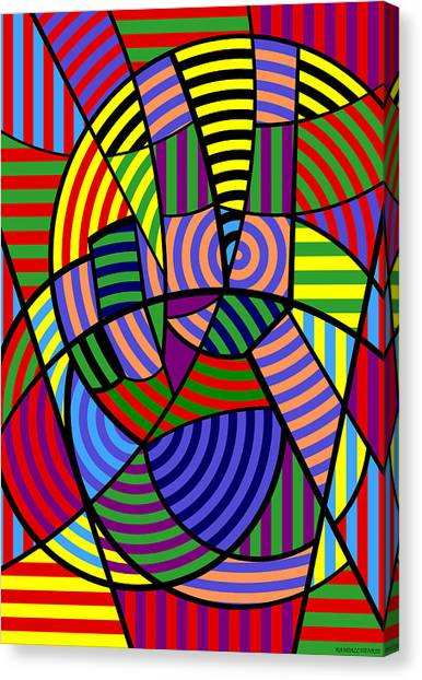 Peace 4 Of 12 Canvas Print