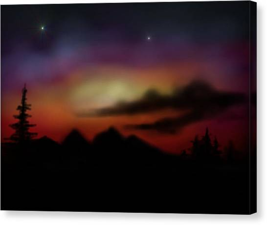 Peace And Calming Canvas Print by Ricky Haug