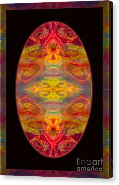 Peace And Harmony Abstract Healing Art Canvas Print