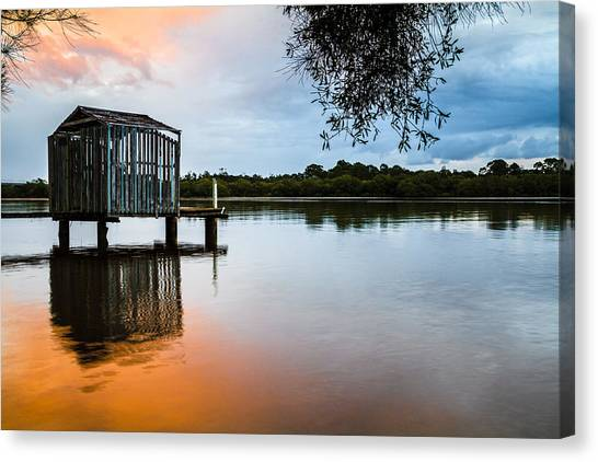 Peace At Pete's Jetty Canvas Print