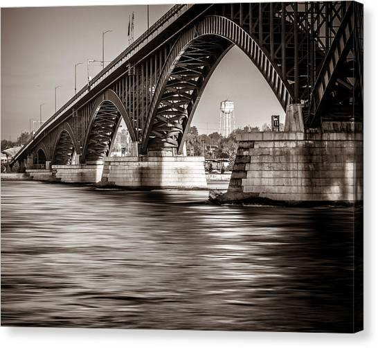 Peace Bridge Canvas Print