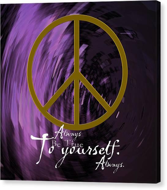 Peace Canvas Print by Daryl Macintyre
