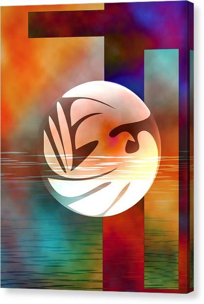 Peace Dove Canvas Print by Bruce Manaka