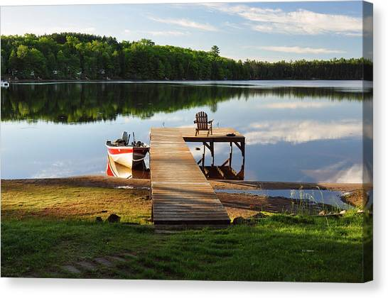Peace Easy Canvas Print by RJ Martens