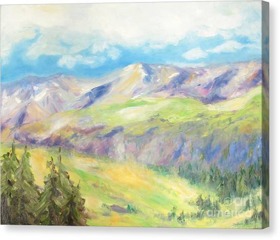 Canvas Print - 	Peace In The Mountains				 by Barbara Anna Knauf