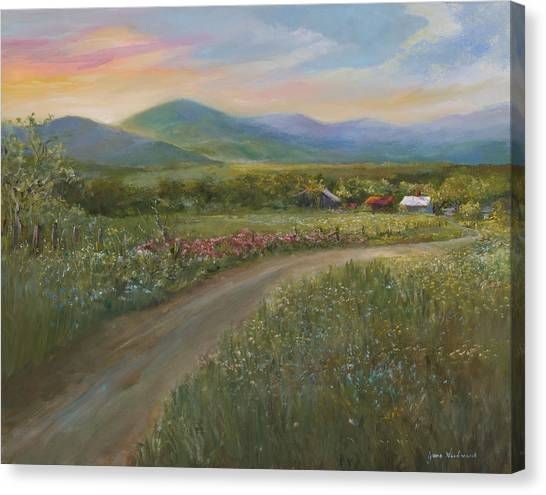 Canvas Print - Peace In The Valley by Jane Woodward