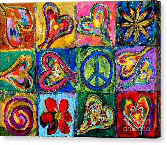 Peace Canvas Print by Kelly Athena