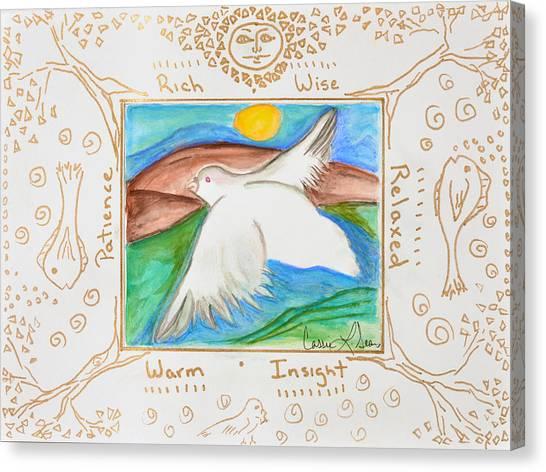 Peace Of Heaven Canvas Print