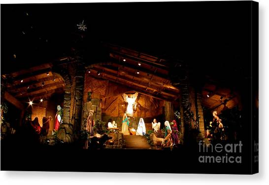 Peace On Earth Canvas Print by Jay Nodianos