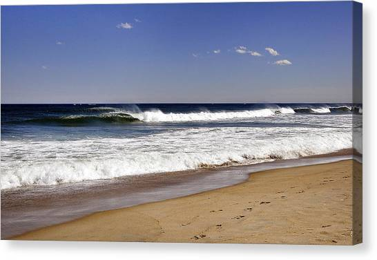 Peace Shores Canvas Print by Joanne Brown