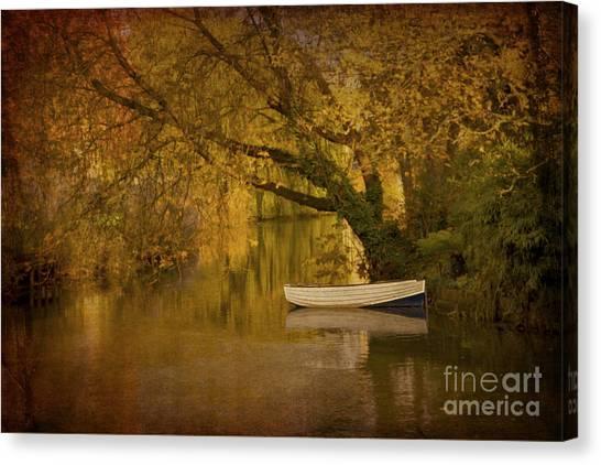 Peaceful Backwater Canvas Print