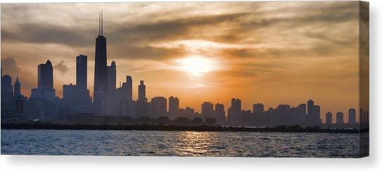 Peaceful Chicago Canvas Print