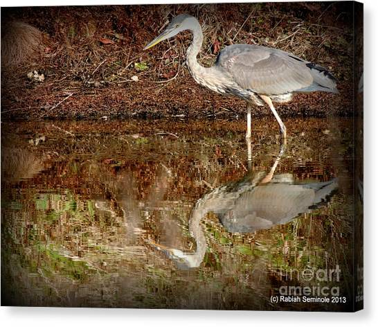 Peaceful Hunter Canvas Print