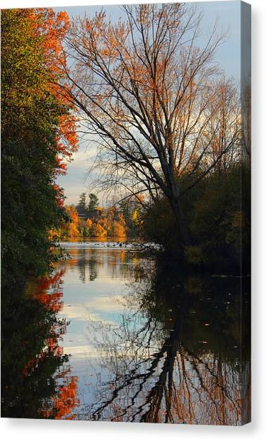 Peaceful October Afternoon Canvas Print