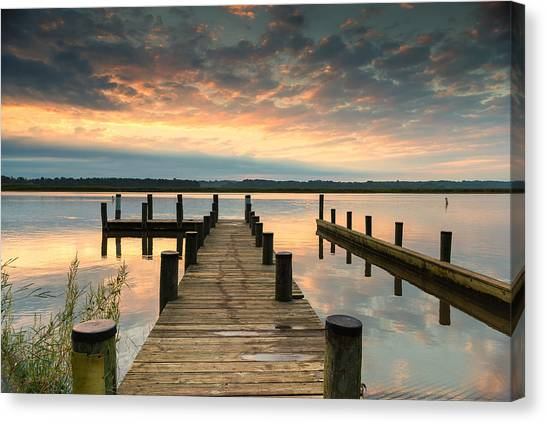 Peaceful Patuxent Canvas Print